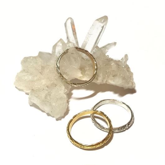 【受注商品】K10 Pattern ring (ベビーサイズ)