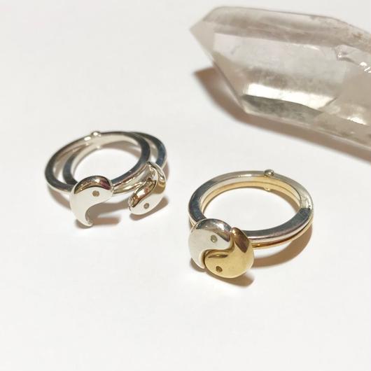 【受注商品】Yin yang ring