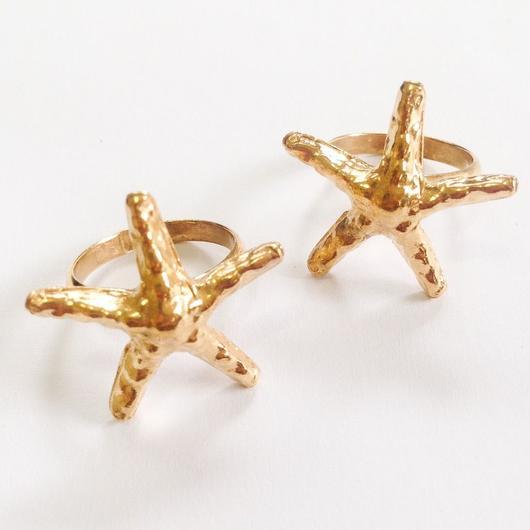 Star fish ring