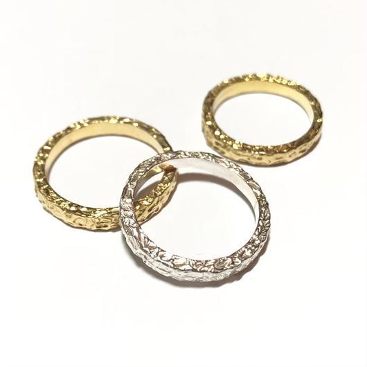 【受注商品】Texture ring