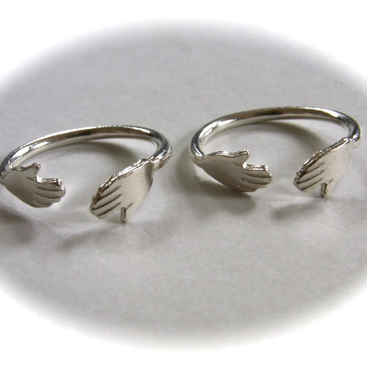 Hand ring <silver>