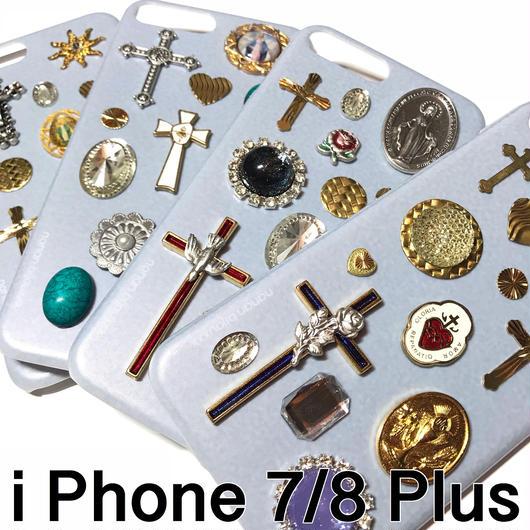 iPhone case 7/8 Plus size 〈Gray〉