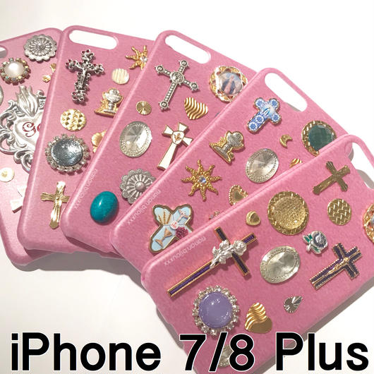 iPhone case 7/8 Plus size 〈Pink〉