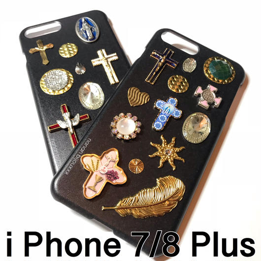iPhone case 7/8 Plus size 〈Black〉