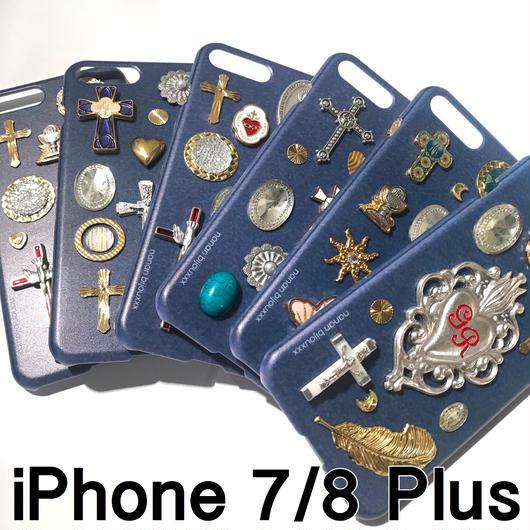 iPhone case 7/8 Plus size 〈Navy〉