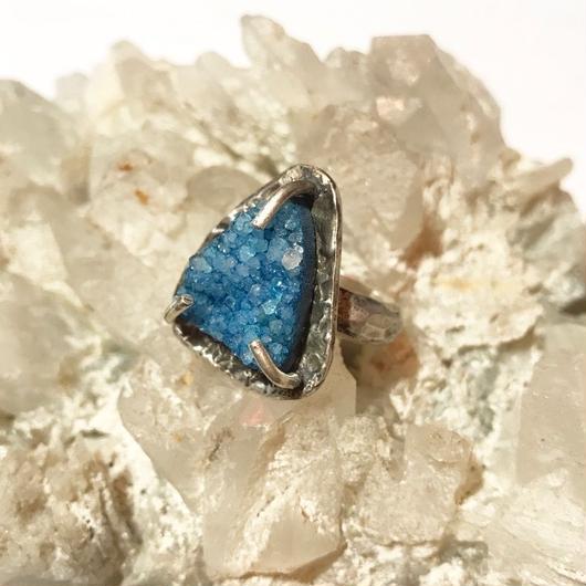 【受注商品】Triangular quartz ring