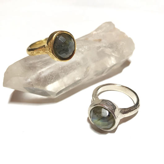 【受注商品】Labradorite ring