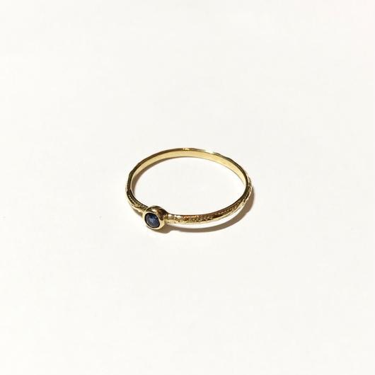 【受注商品】Birthday stone pattern ring (9月/サファイア)