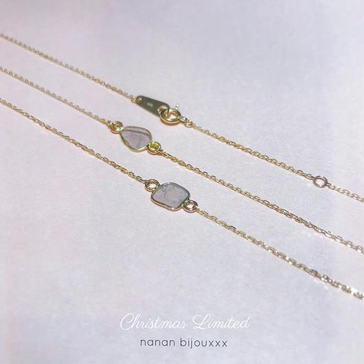 【受注商品】K18 Diamond necklace