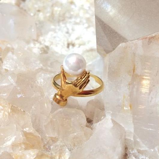 【受注商品】Dress in pearl ring