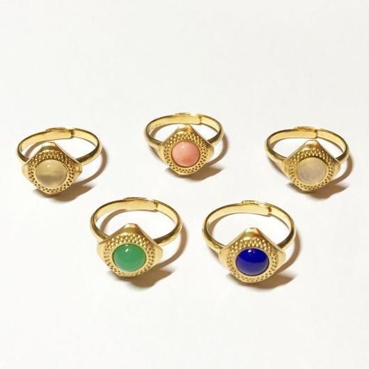【受注商品】Stone ring