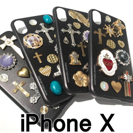iPhone case X size 〈Black〉