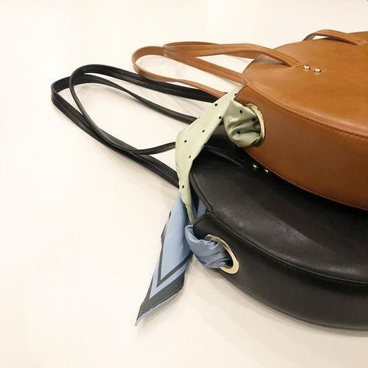 Casselini スカーフ付きサークルバッグ