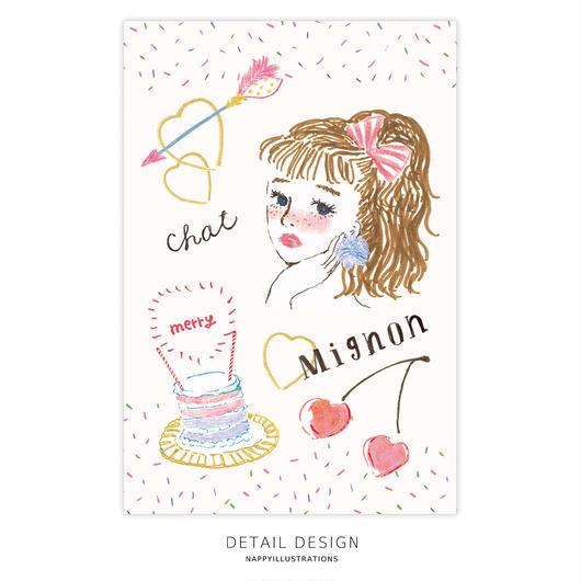 ポストカード / Mignon chat