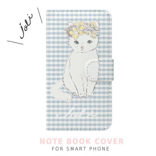 """手帳型スマートフォン ケース""""JOLI CAT"""""""