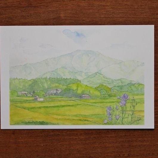恵那山(ポストカード)
