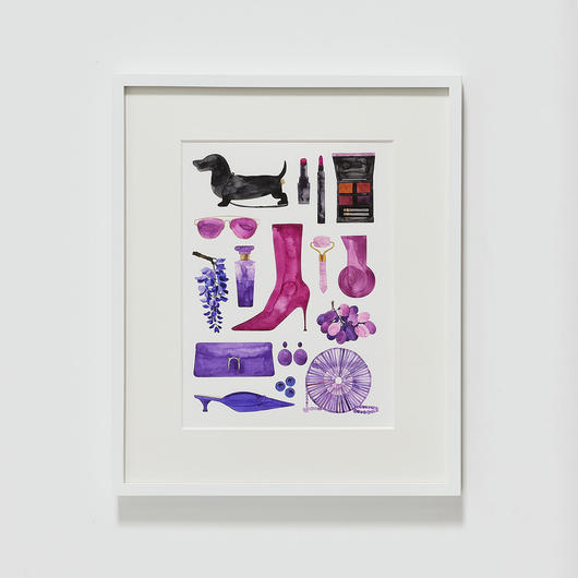 新作 Colors(purple) /natsu yamaguchi_2019