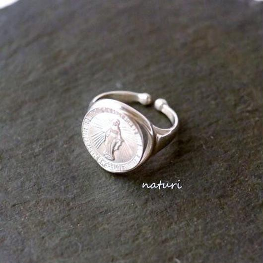 【medaille】sv925 miraculous medal ring