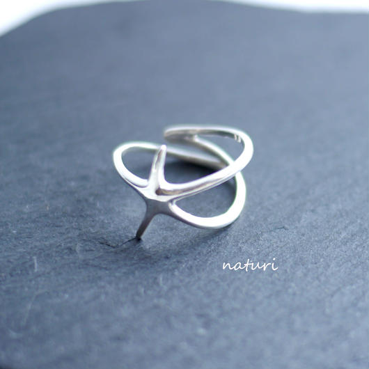 【asterie】sv925 hitode ring