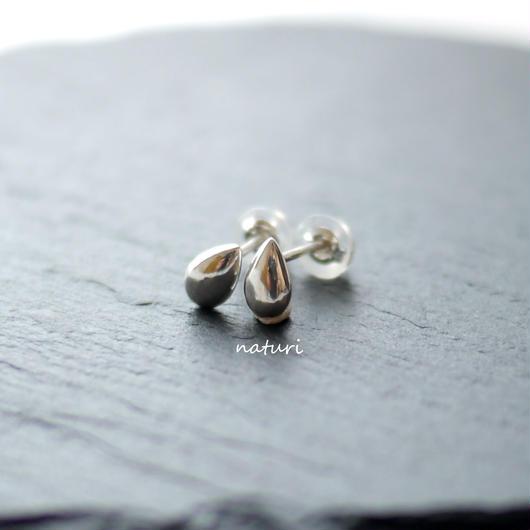 【rosee】sv925 drop pierce Ⅲ (2pcs)