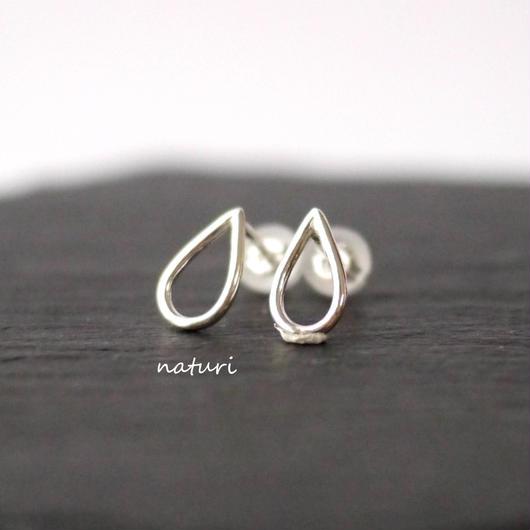【rosee】sv925 drop pierce Ⅳ (2pcs)
