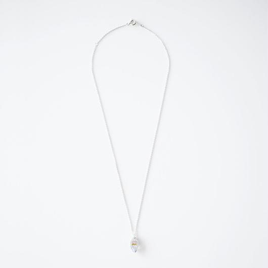 結晶ネックレス/サファイア