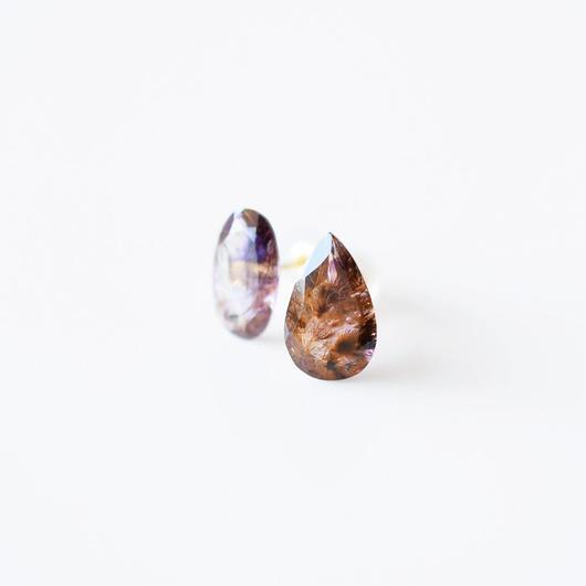 天然石ピアス/スーパーセブン
