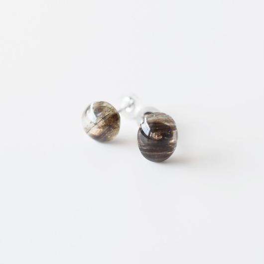 天然石ピアス/スキャポライト