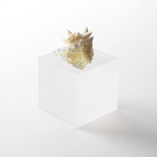 天然石/フローライト&カルサイト結晶