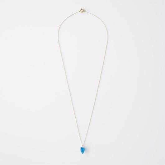 原石ネックレス/ブルーアパタイト