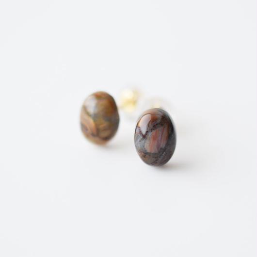 天然石ピアス/ピータサイト