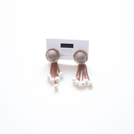 pearls  -  vintage beads pierce