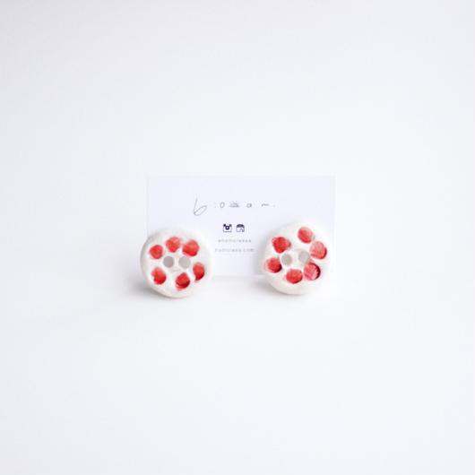dot -  pottery earring