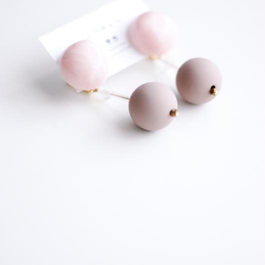 Emma 2  - vintage beads earring