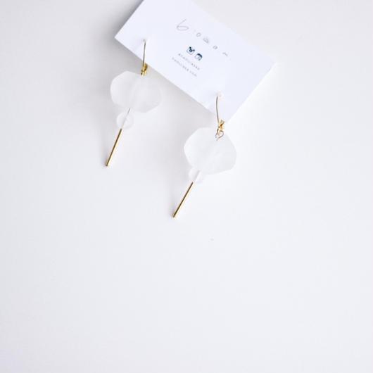 thawing  -  vintage beads pierce