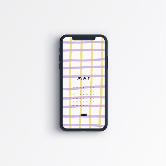 2018 MAY〈 iPhone calendar 〉