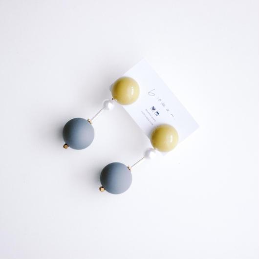 Viola  -  vintage beads pierce