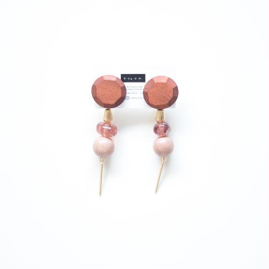 fall  -  vintage beads pierce