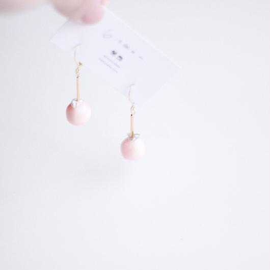 spring -  vintage beads pierce