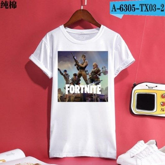 Fortnite フォートナイト ロゴ デザイン 綿100%  Tシャツ トップス  ユニセックス メンズ レディース  12