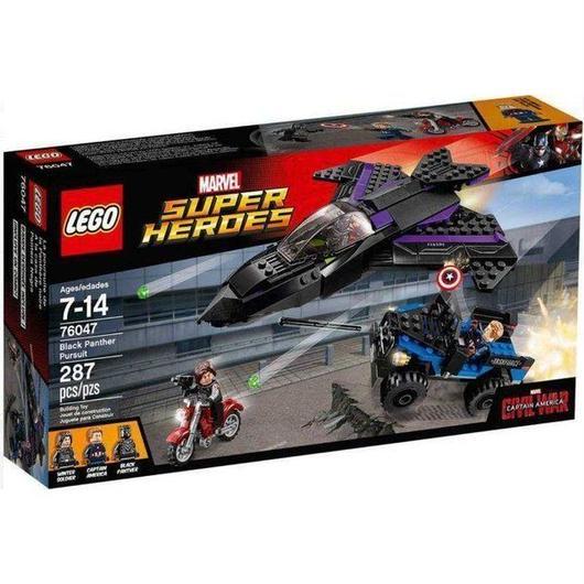 ブラックパンサー Black Panther レゴ LEGO おもちゃ Marvel Super Heroes Captain America: Civil War Pursuit Set