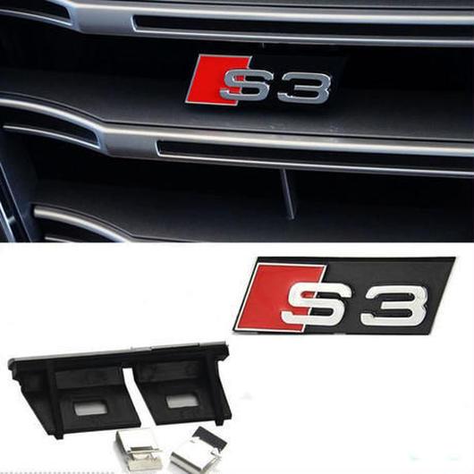 アウディ ステッカー A3 A4 A5 S3 S4 S5 バッジ  リア ボディ エンブレム ABS Audi h00352