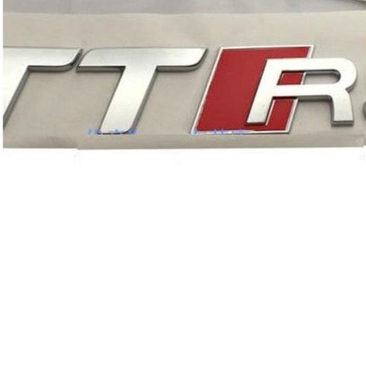アウディ ステッカー TTRS TTS TT ロードスター バッジ  リア ボディ エンブレム Audi h00350
