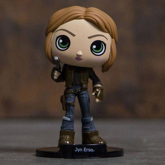ジン アーソ ファンコ フィギュア・おもちゃ Funko Funko Wobblers Star Wars Rogue One Jyn Erso Bobble Head