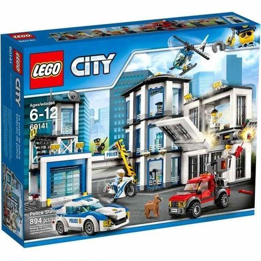 レゴ LEGO おもちゃ City Police Station Set #60141
