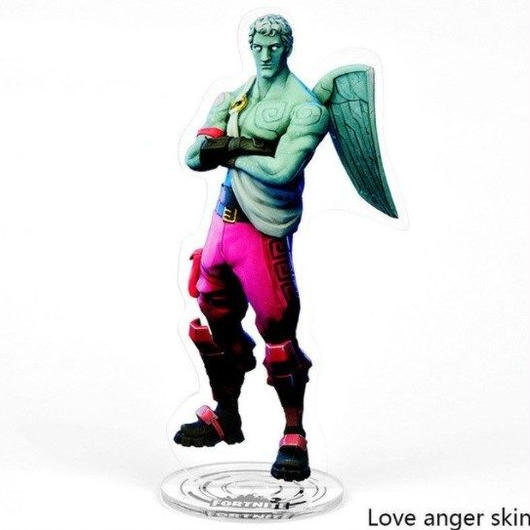 フォートナイト アクリル ディスプレイボード アクションフィギュアコレクション 装飾 ギフト Fortnigt バトル · ロワイヤル  8