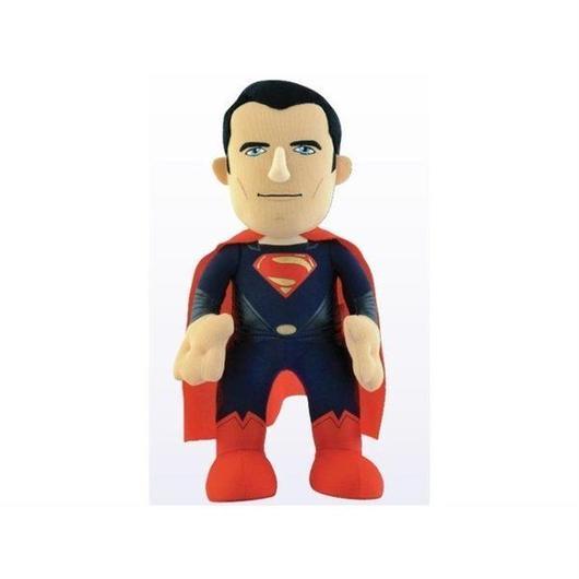 """ディーシー ブリーチャークリーチャー BLEACHER CREATURE Man of Steel 10"""" Plush - Superman"""