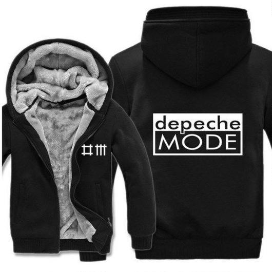 高品質デペッシュ·モード Depeche Mode フリースパーカー  スウェット 衣装 コスチューム 小道具 海外限定 4