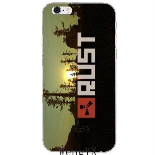 RUST ラスト TPU シリコン Iphone ケース アイフォンケース  オープンワールドサバイバルゲーム  13