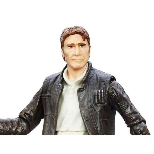 """スターウォーズ ハズブロ HASBRO Star Wars: The Black Series 6"""" Han Solo (Ep VII)"""